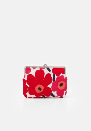 PUOLIKAS KUKKARO MINI UNIKKO PURSE - Monedero - white/red