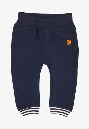 MET VARIABEL TE DRAGEN BAND - Tracksuit bottoms - dark blue
