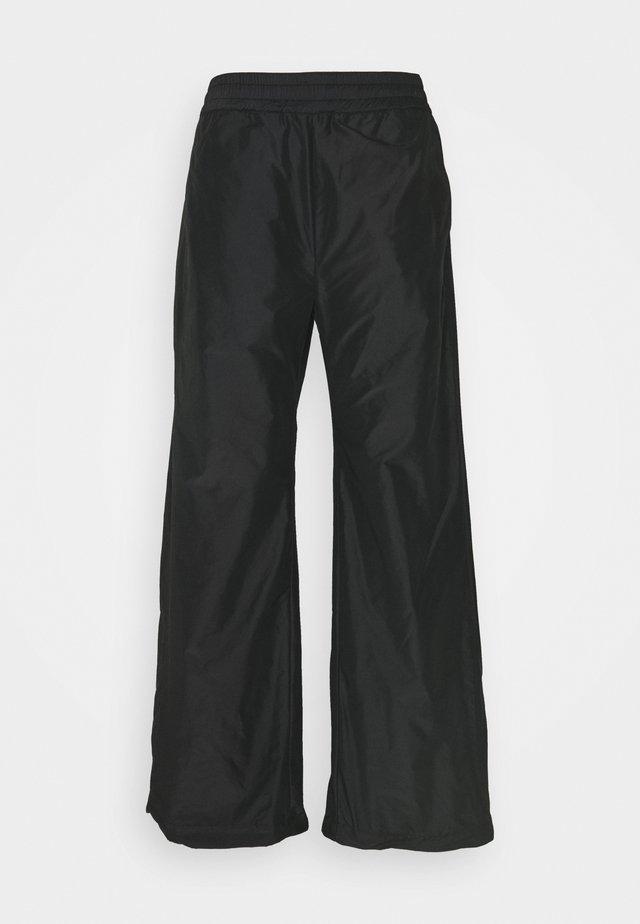 ACE TROUSER - Trousers - black taffeta