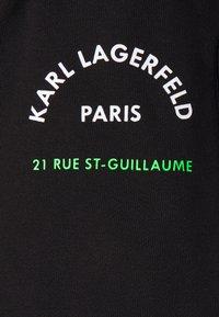 KARL LAGERFELD - PANTS - Tracksuit bottoms - black - 6