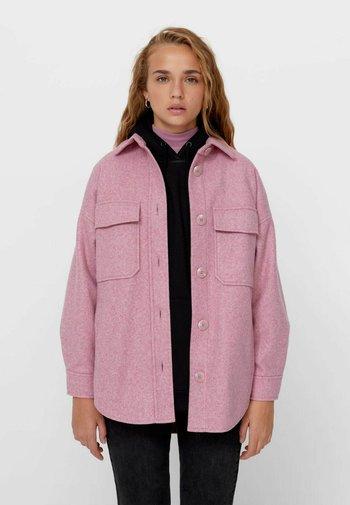 OVERSIZE - Summer jacket - light pink