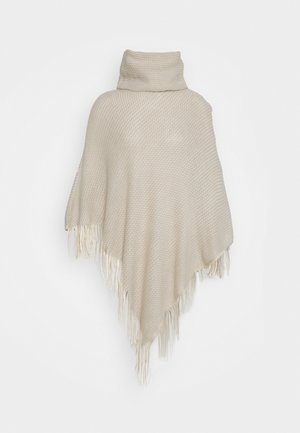 PCFILIXA PONCHO - Cape - cloud dancer
