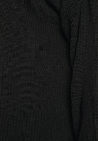 Missguided Plus - LONGLINE - Cardigan - black - 6