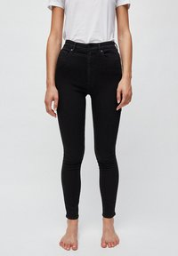ARMEDANGELS - INGAA X STRETCH - Jeans Skinny Fit - black night - 0