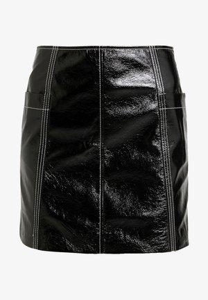 LOVA SKIRT - Mini skirt - black