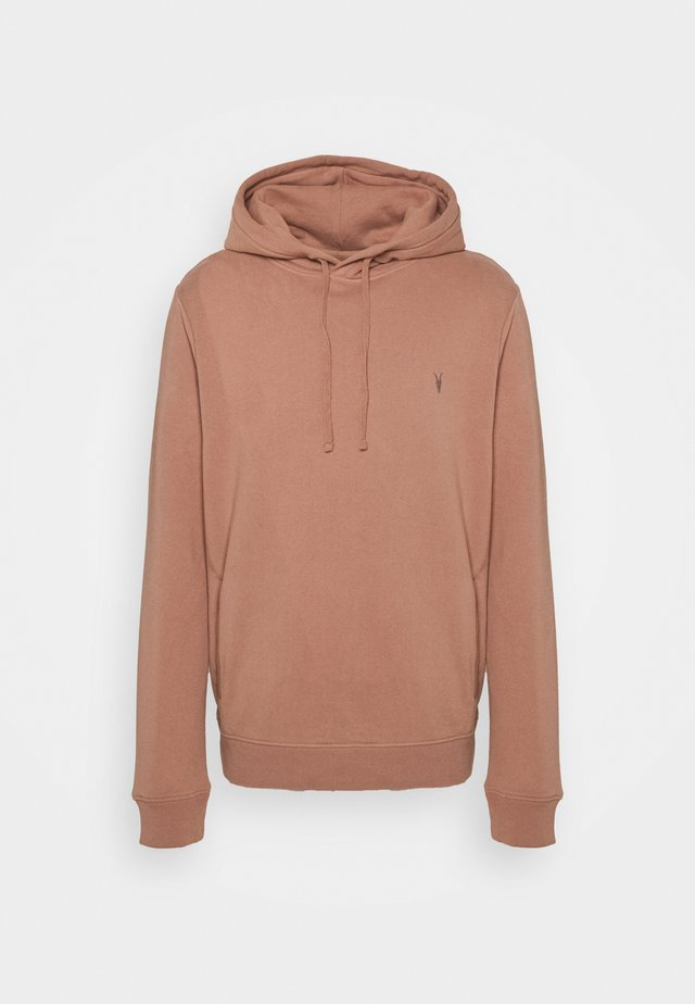 RAVEN OTH HOODY - Luvtröja - baked clay pink