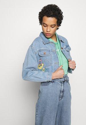 80´S CROPPED  - Denim jacket - honolulu