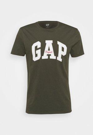 LOGO ARCH - T-shirts print - black moss