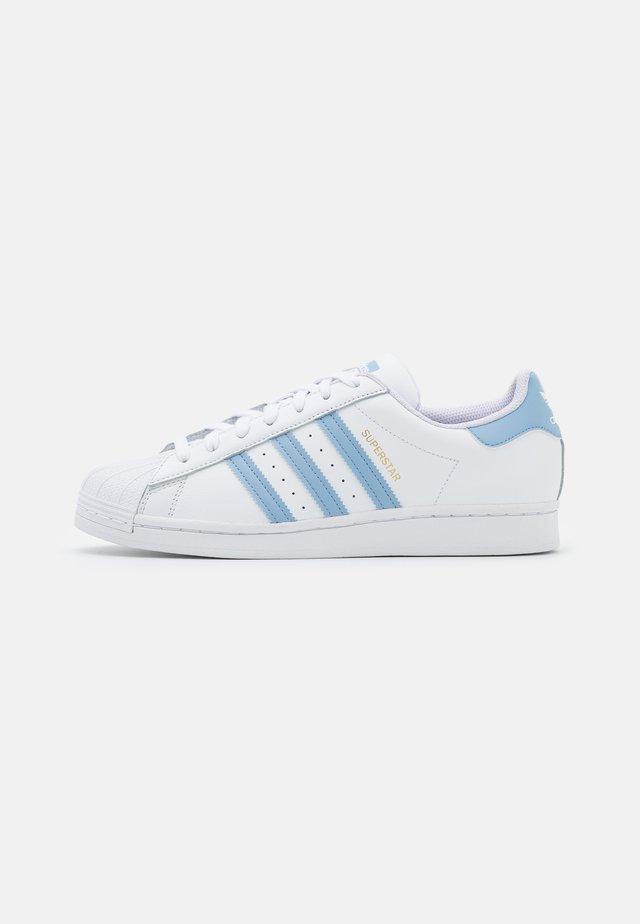 SUPERSTAR UNISEX - Sneakers - footwear white/ambient sky