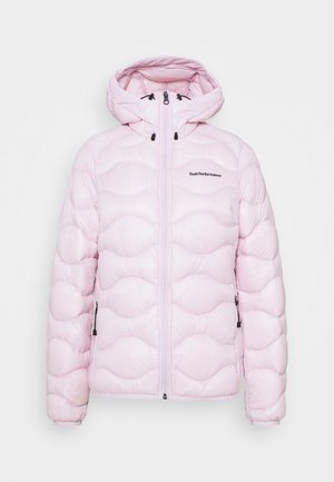 HELIUM HOOD JACKET - Down jacket - cold blush