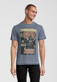 Re:Covered - STAR WARS EMPIRE STRIKES BACK - T-shirt print - blau - 0