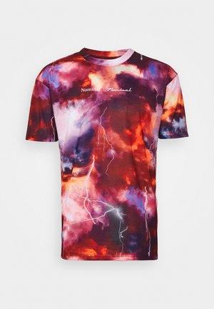THUNDER  - T-Shirt print - red