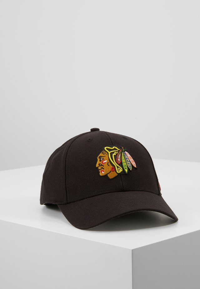 NHL CHICAGO BLACKHAWKS - Gorra - black