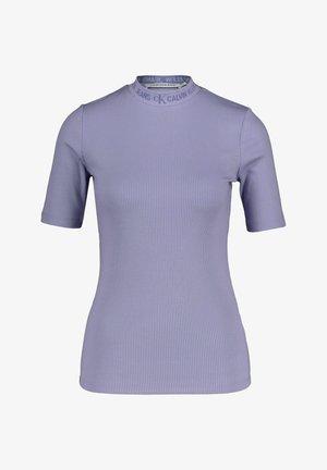 LOGO TRIM TEE - T-shirt imprimé - lila