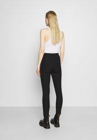 Tommy Hilfiger - GABARDINE SKINNY - Leggings - Trousers - black - 2