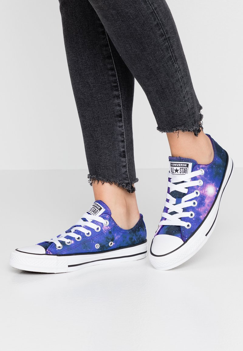 Converse - CHUCK TAYLOR ALL STAR MISS GALAXY - Trainers - black/court purple/white