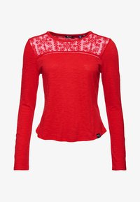 Superdry - Long sleeved top - red - 6