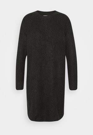 ONLCAROL  - Jumper dress - dark grey melange
