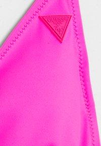 Guess - REMOVABLE PADDED - Bikini top - fluor fuchsia - 2