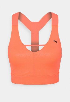 MID IMPACT PEARL BRA - Sports-BH - peach