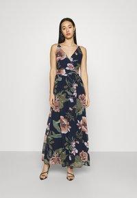 Vero Moda - VMKATNISS MAXI DRESS  - Maxi dress - navy blazer - 0