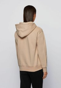 BOSS - C_EDELIGHT_ACTIVE - Hoodie - light brown - 2