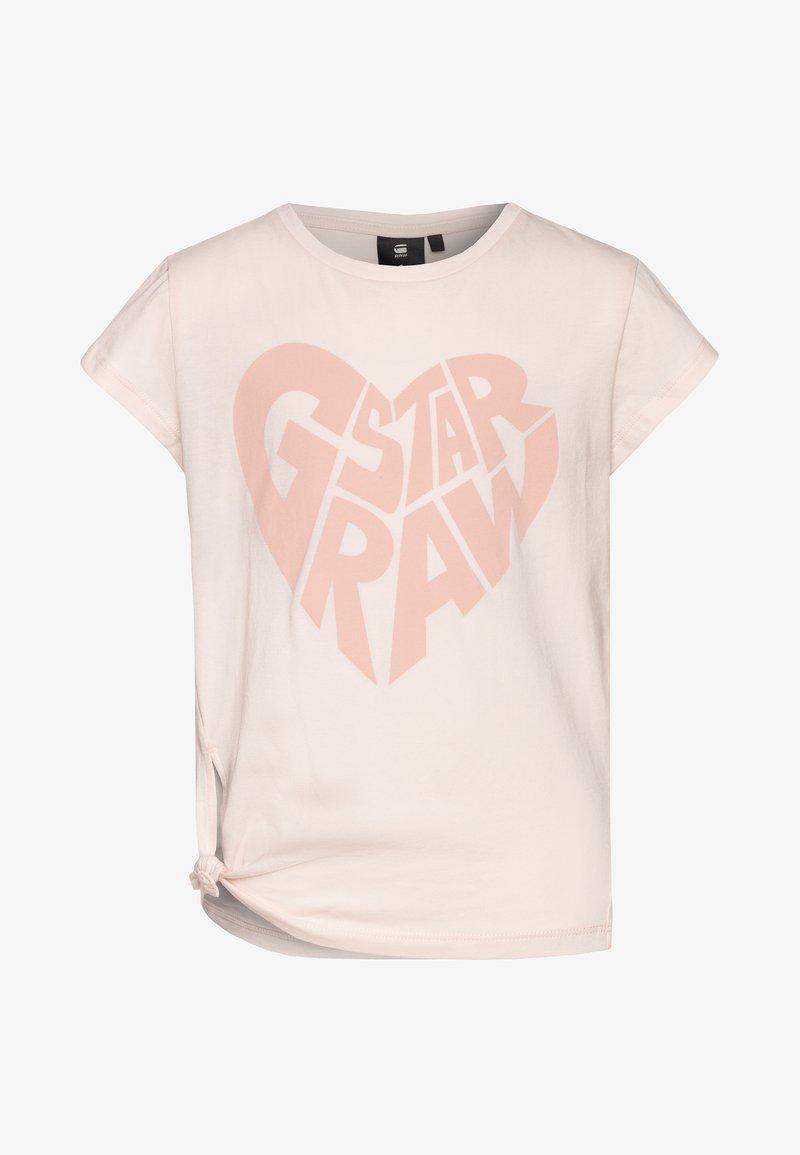 G-Star - T-shirt imprimé - pink