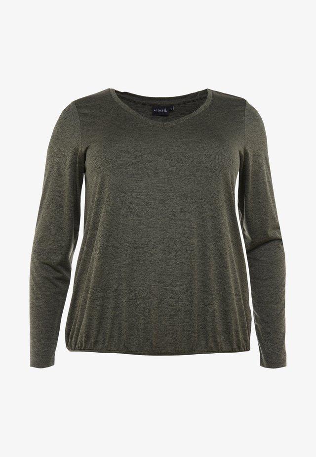 ASAN FRAN - T-shirt à manches longues - ivy green