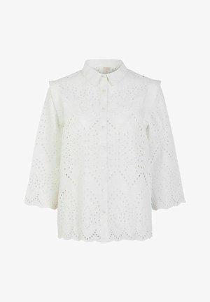 OBERTEIL LOCHSTICKEREI - Camisa - bright white