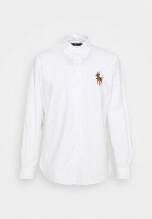 LONG SLEEVE SPORT SHIRT - Košile - white