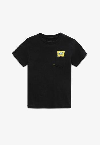 BY VANS X SPONGEBOB  SPOTLIGHT KIDS PCKT - T-shirt med print - spongebob spotlight