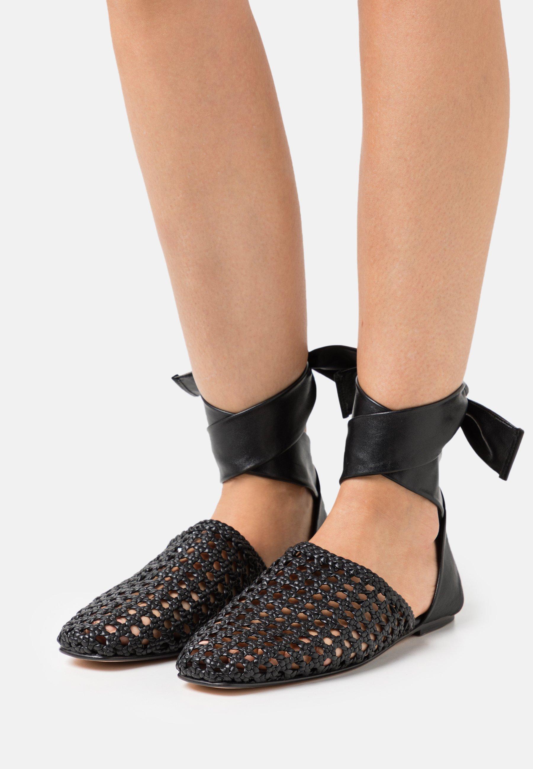 Women MELLY 8 - Ankle strap ballet pumps