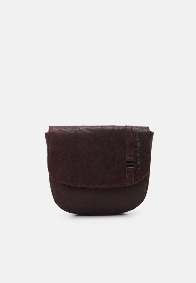 Across body bag - dark brown