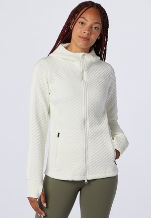 Sweater met rits - sea salt heather