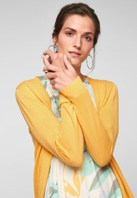 s.Oliver - VESTE - Cardigan - bright yellow - 4