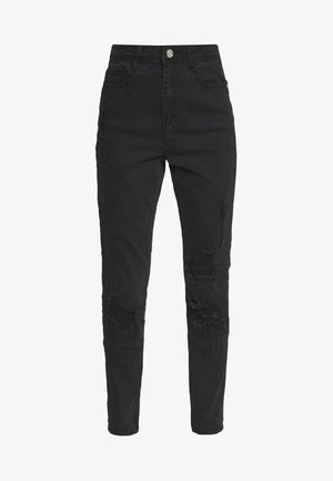 AUTHENTIC RIPPED  - Jeans Skinny Fit - black