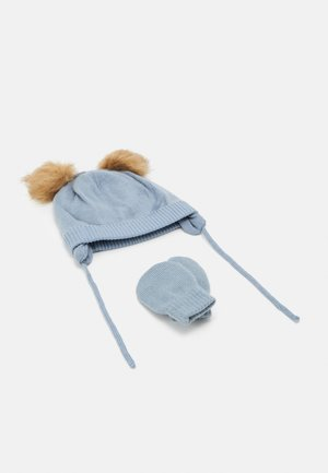 NBMMUSTA MAGIC SET - Beanie - ashley blue
