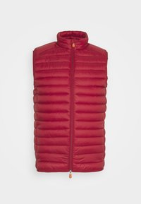 Save the duck - ADAM VEST - Waistcoat - winery red - 0