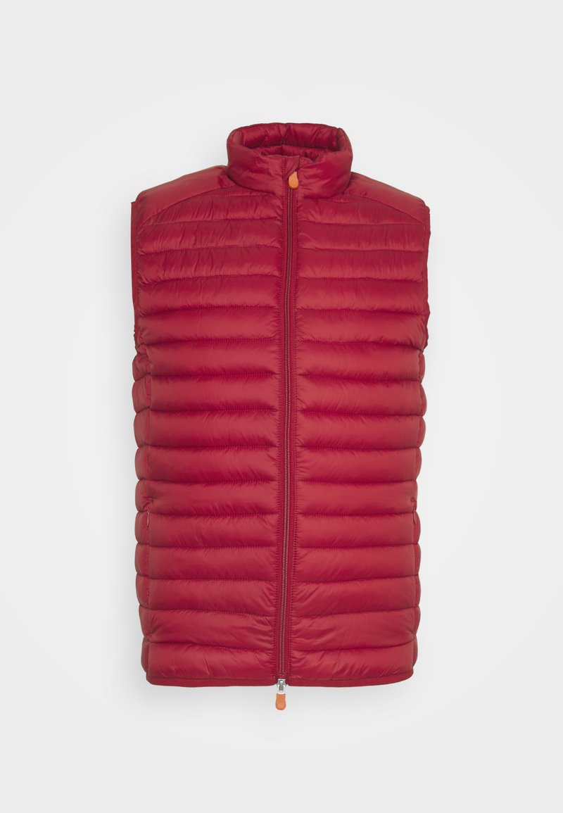Save the duck - ADAM VEST - Waistcoat - winery red