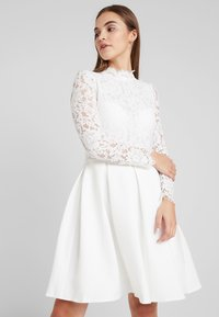 Molly Bracken - LONG SLEEVES - Vestido de cóctel - white - 0