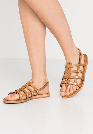 HAKEA - Sandals - miel