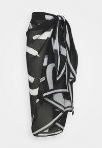 Seafolly - NEW WAVE PAREO - Beach accessory - black - 1