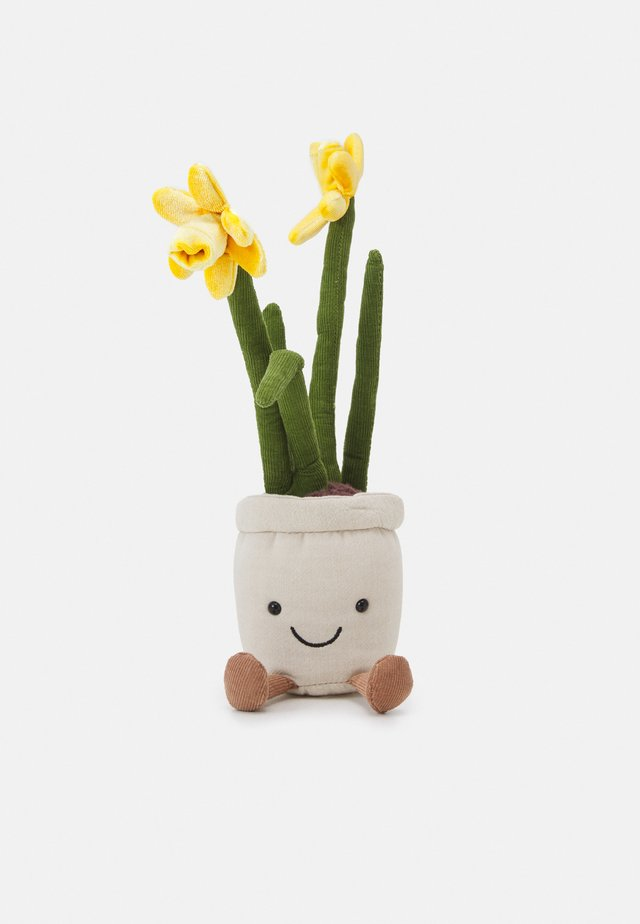 AMUSEABLE DAFFODIL UNISEX - Cuddly toy - white