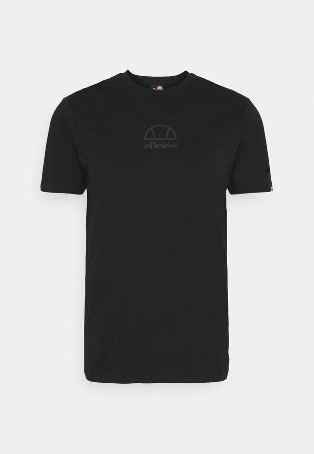 DANARI - Print T-shirt - black