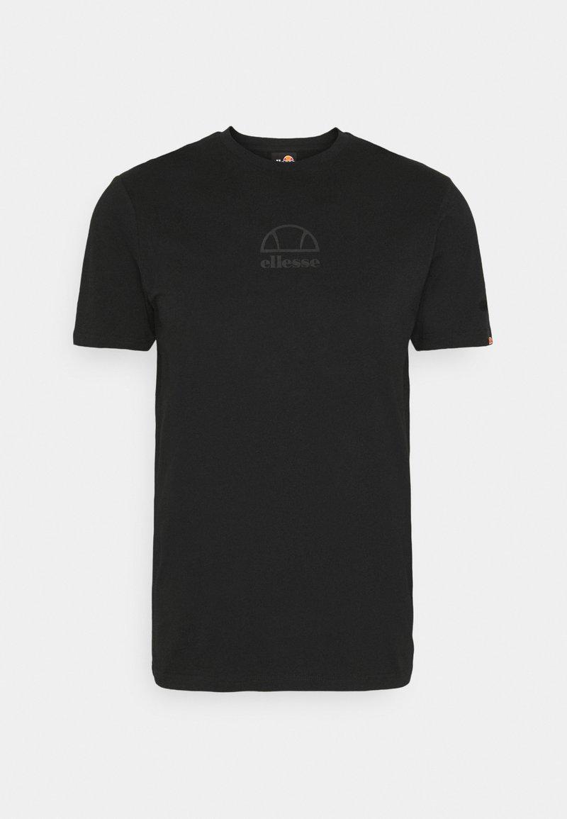 Ellesse - DANARI - T-shirt print - black