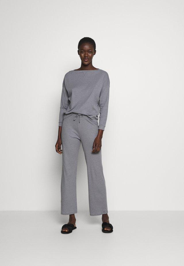 LONG SLEEVE TWOSIE - Pyjamas - light grey