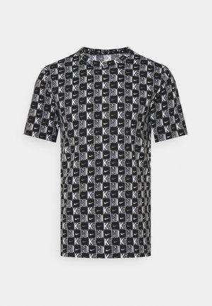 TEE HIGHER - T-shirts print - white/black