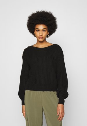 VMNEWLEA BOATNECK - Jumper - black