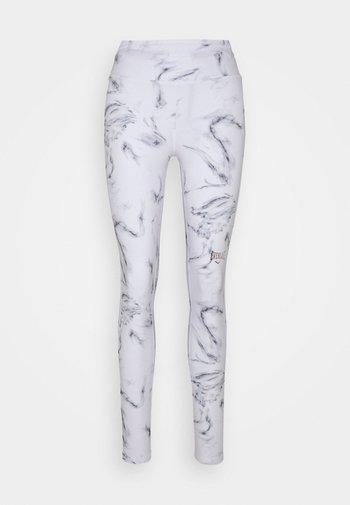 WOMEN AGATE - Leggings - white