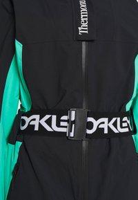 Oakley - CASSIA ONE PIECE - Schneehose - black/mint - 2